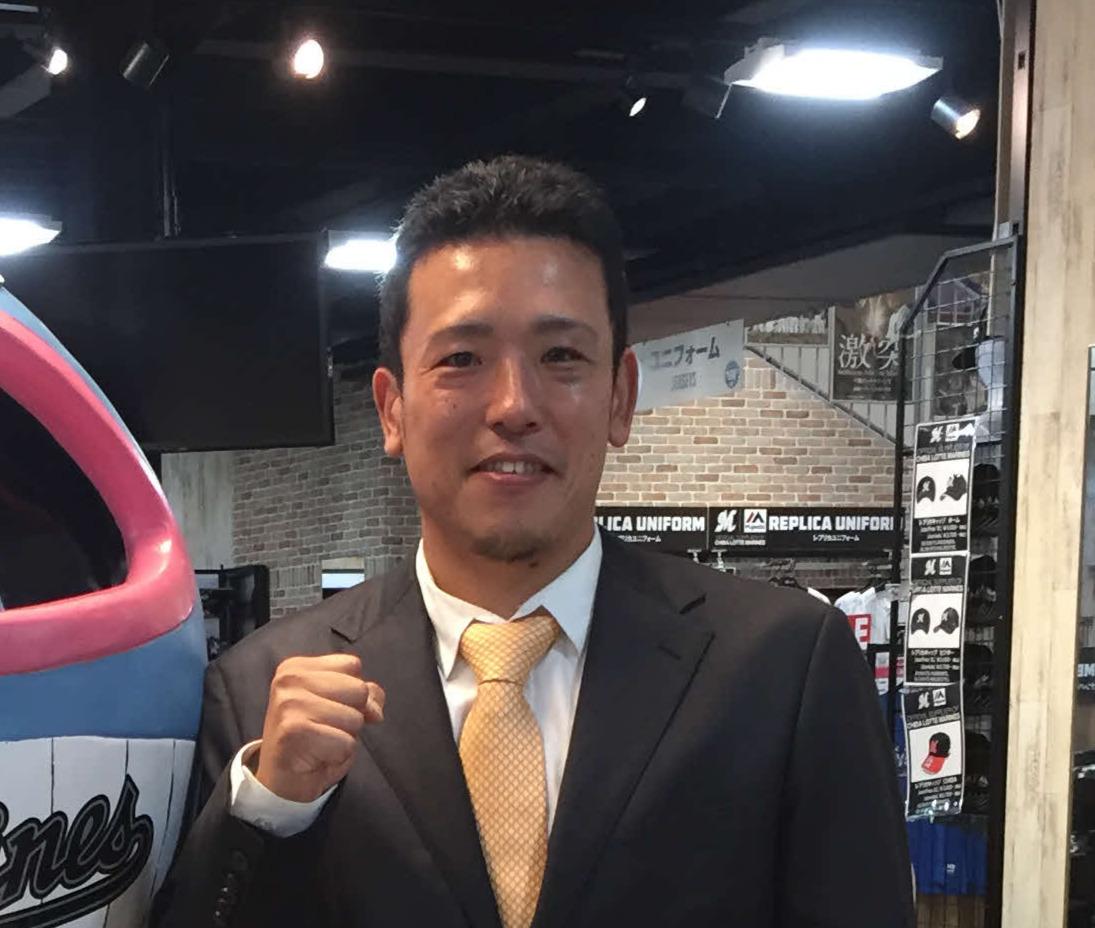ロッテ大隣憲司コーチ(2018年10月16日撮影)