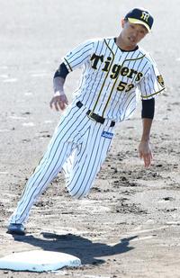 阪神島田が1軍キャンプで快足アピールをもくろむ - プロ野球 : 日刊スポーツ