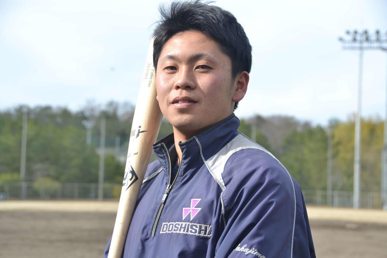 今秋ドラフト候補の一角、俊足外野手の同大・小川