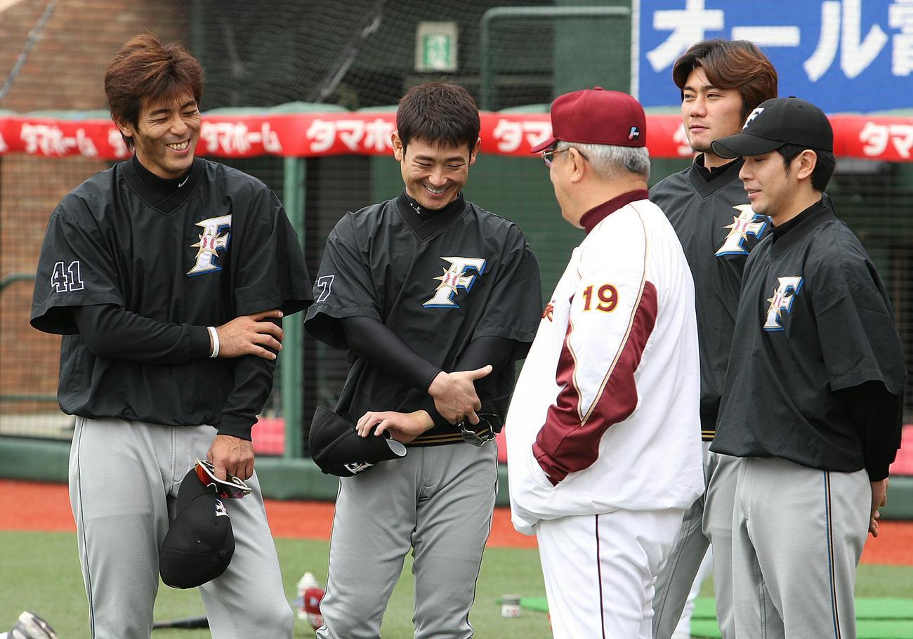さらばノムさん 楽天マー君との出会い/写真特集4 - プロ野球ライブ ...