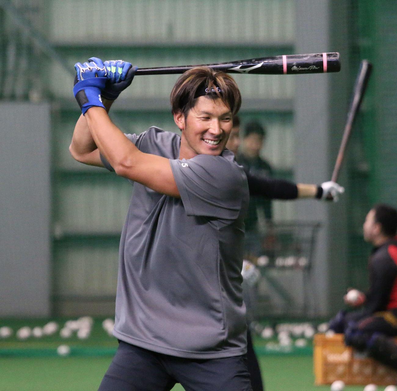 日本ハム大田(2020年1月20日撮影)