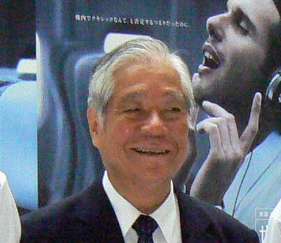 榊原敏一氏(2008年7月10日撮影)