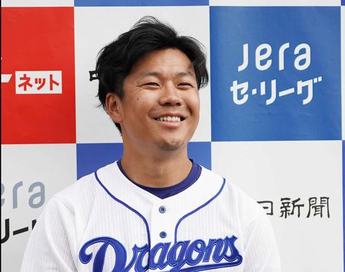 開幕投手に指名された中日大野雄大(2020年2月13日)