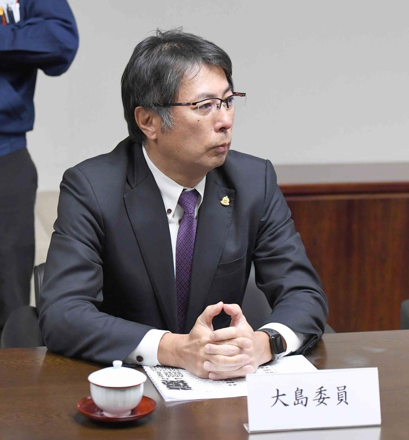 大島宇一郎氏(2020年1月27日撮影)