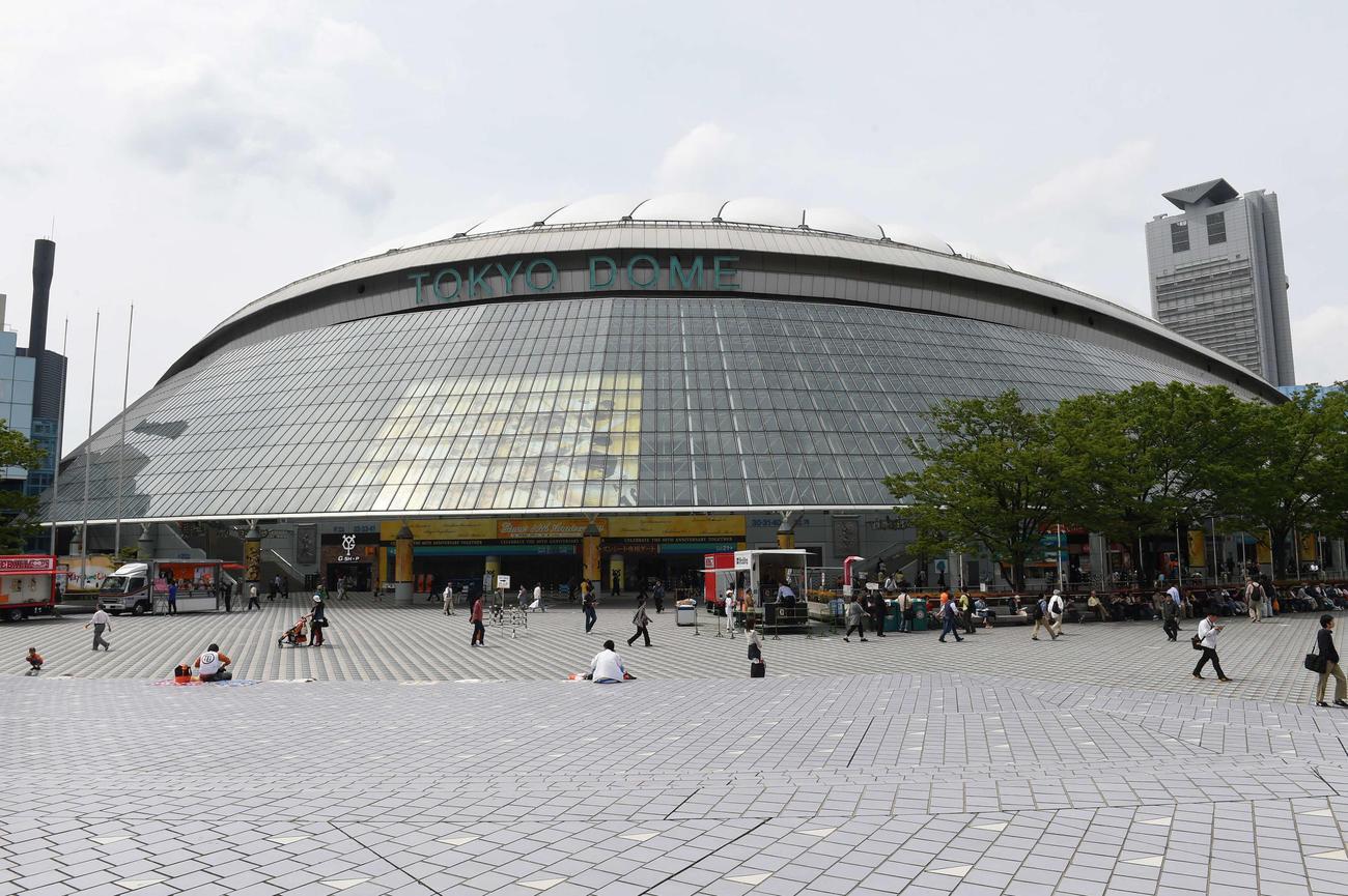 東京ドーム(2014年5月8日撮影)
