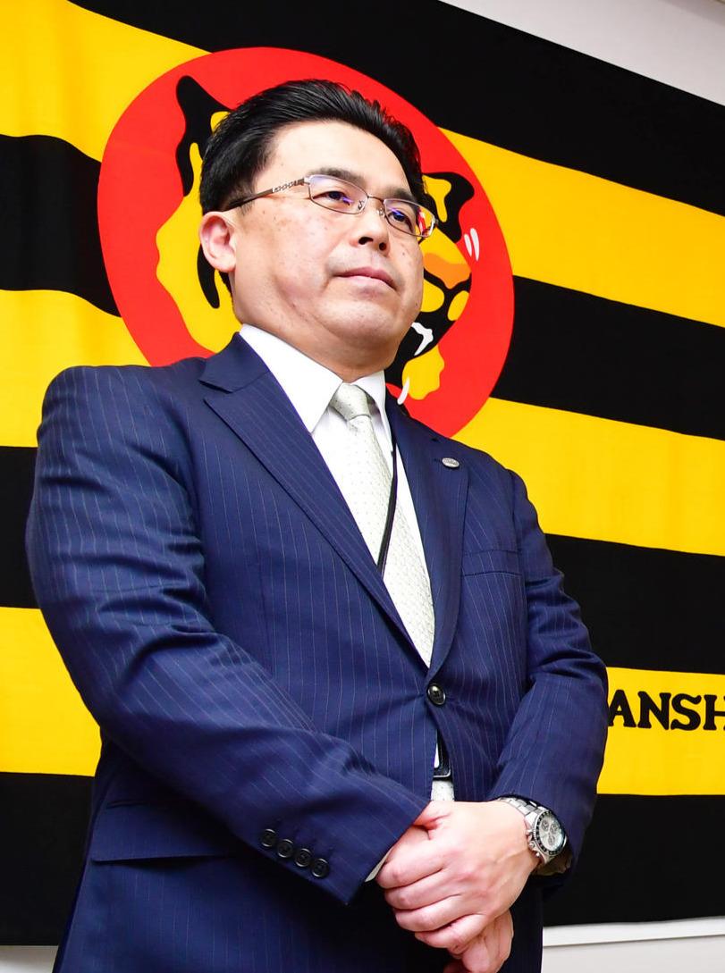 谷本球団副社長(2019年12月27日撮影)