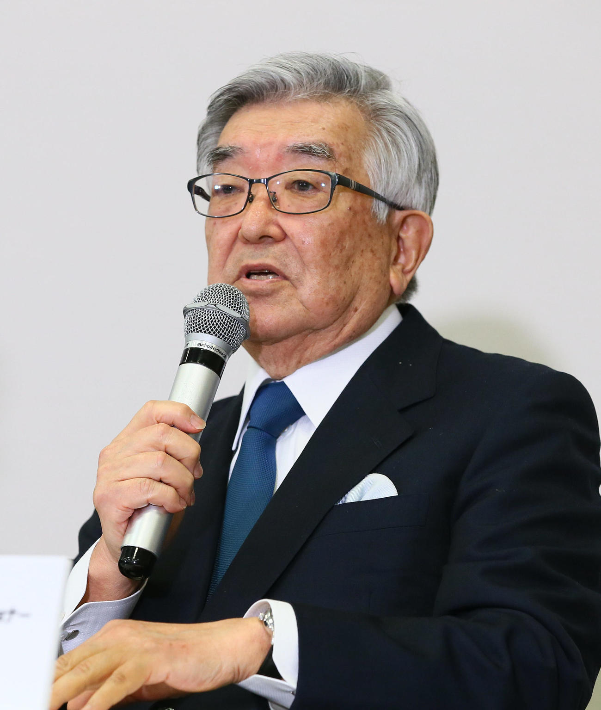 NPB斉藤コミッショナー(2020年3月9日撮影)