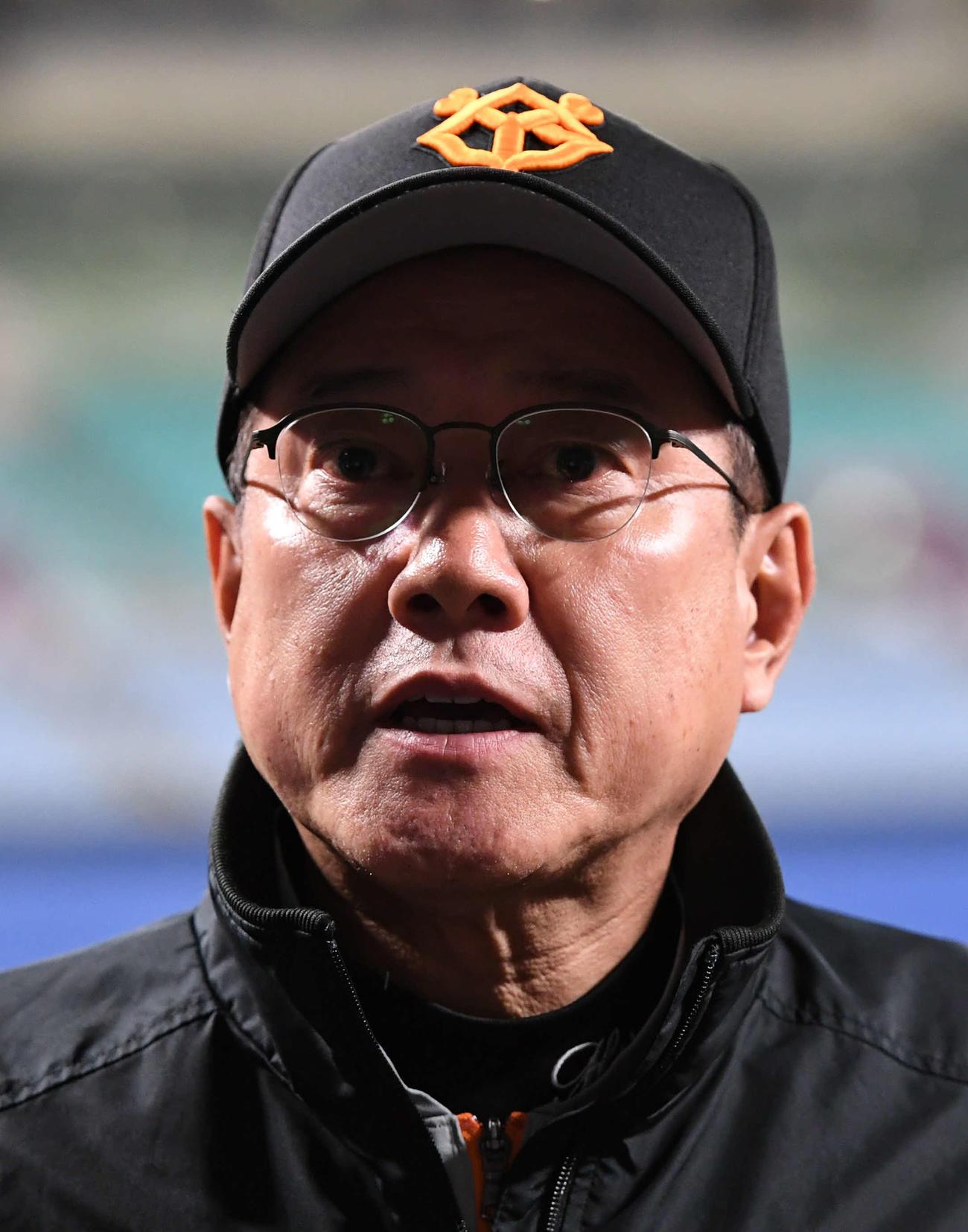 巨人原監督(2020年3月25日)