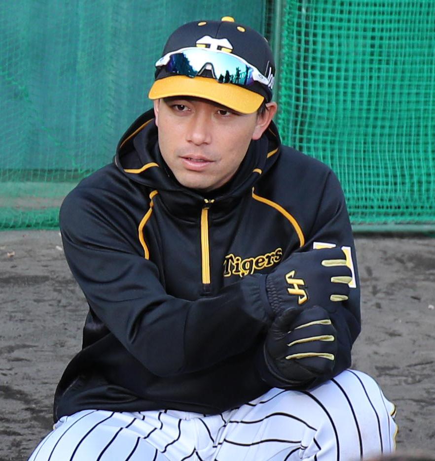 阪神伊藤隼太(2020年2月2日撮影)