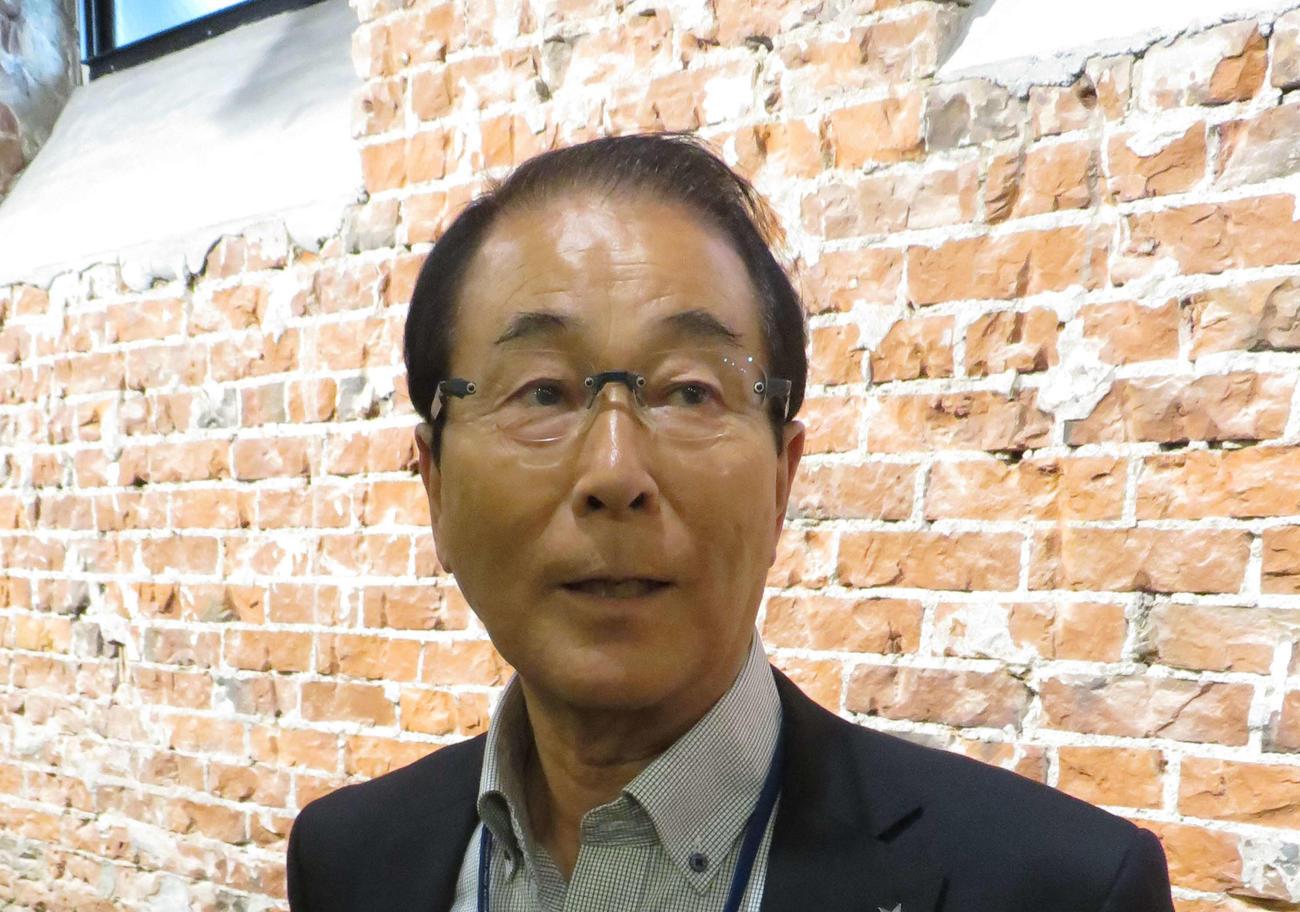 高田繁氏(2018年10月23日撮影)