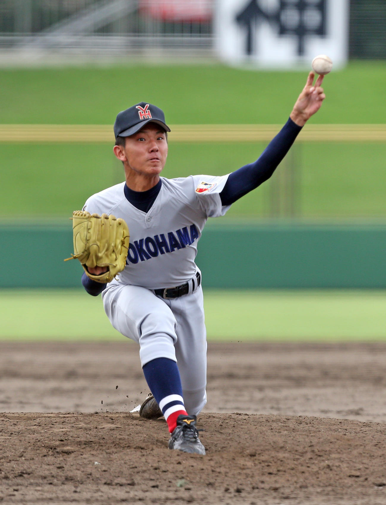 14年、横浜高時代の伊藤