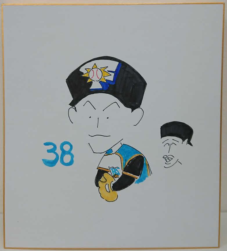 日本ハム木田投手コーチが描いた石井一成内野手