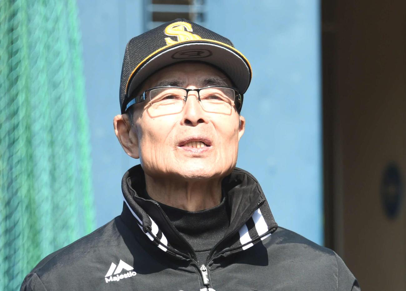 ソフトバンク王貞治球団会長(2020年2月11日撮影)