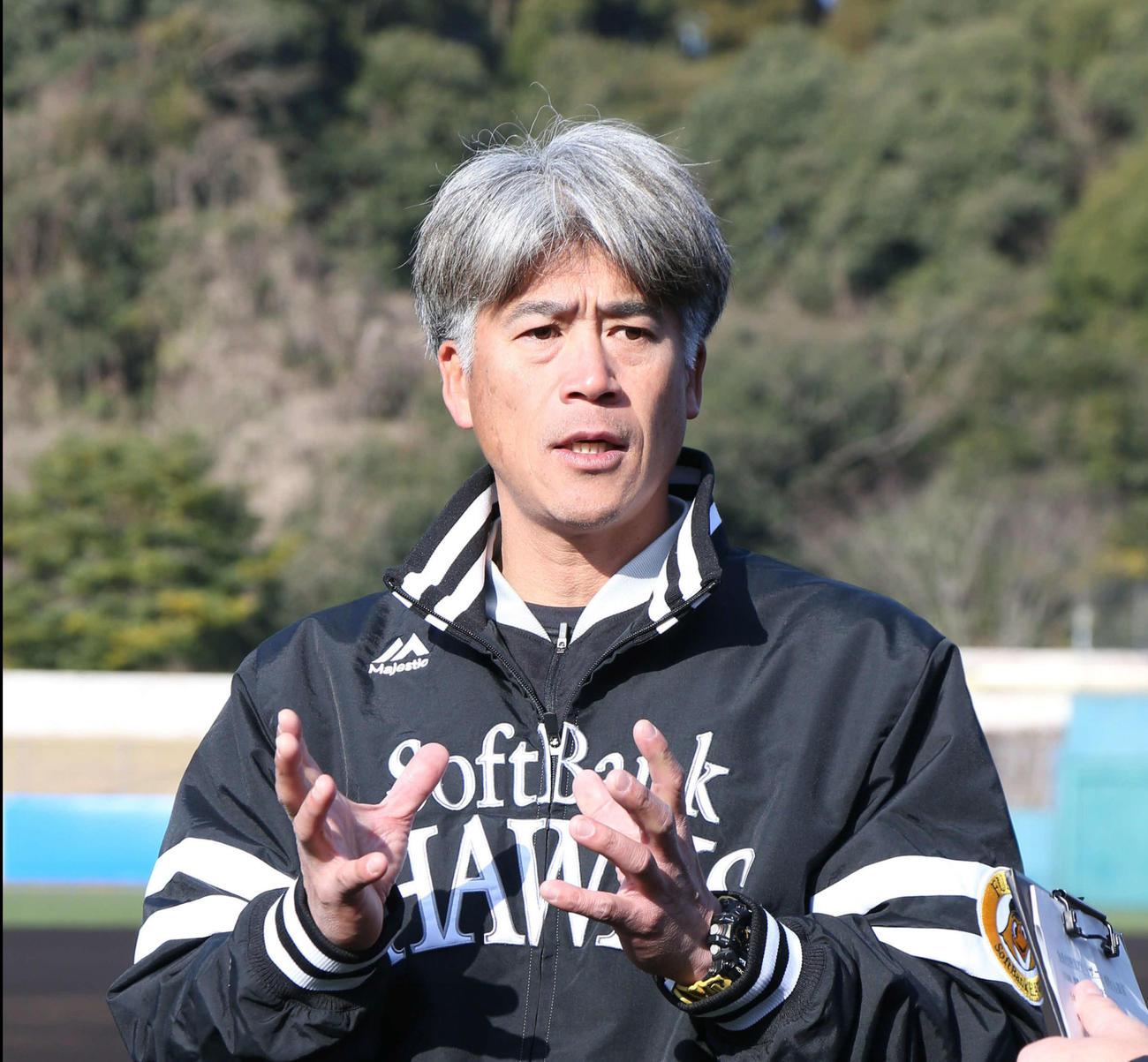 城島健司球団会長付特別アドバイザー(2020年2月9日)