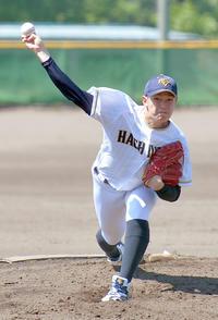 プロ注目の八戸学院大・大道3回8K 高校生を圧倒 - アマ野球 : 日刊スポーツ