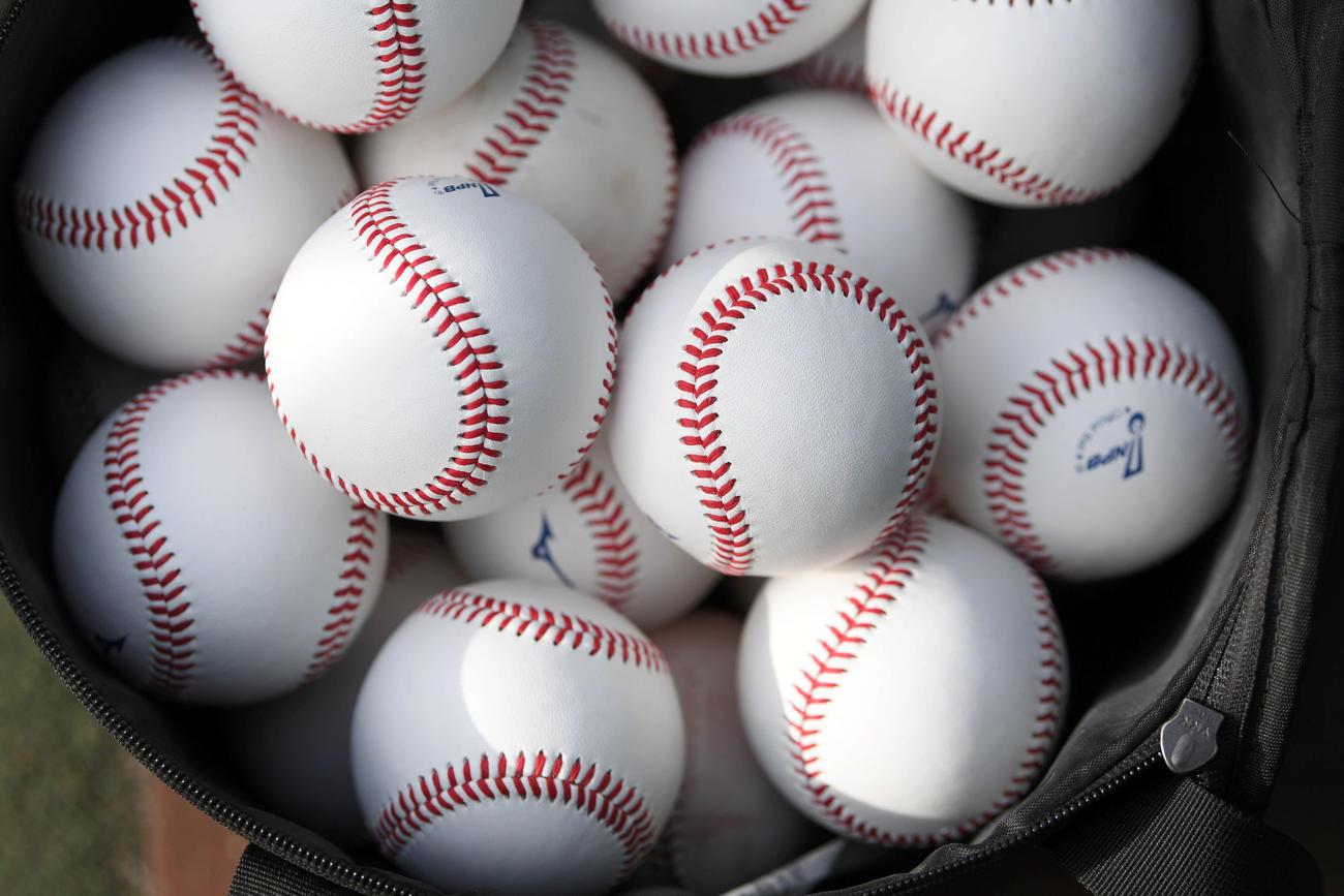 プロ野球の試合球