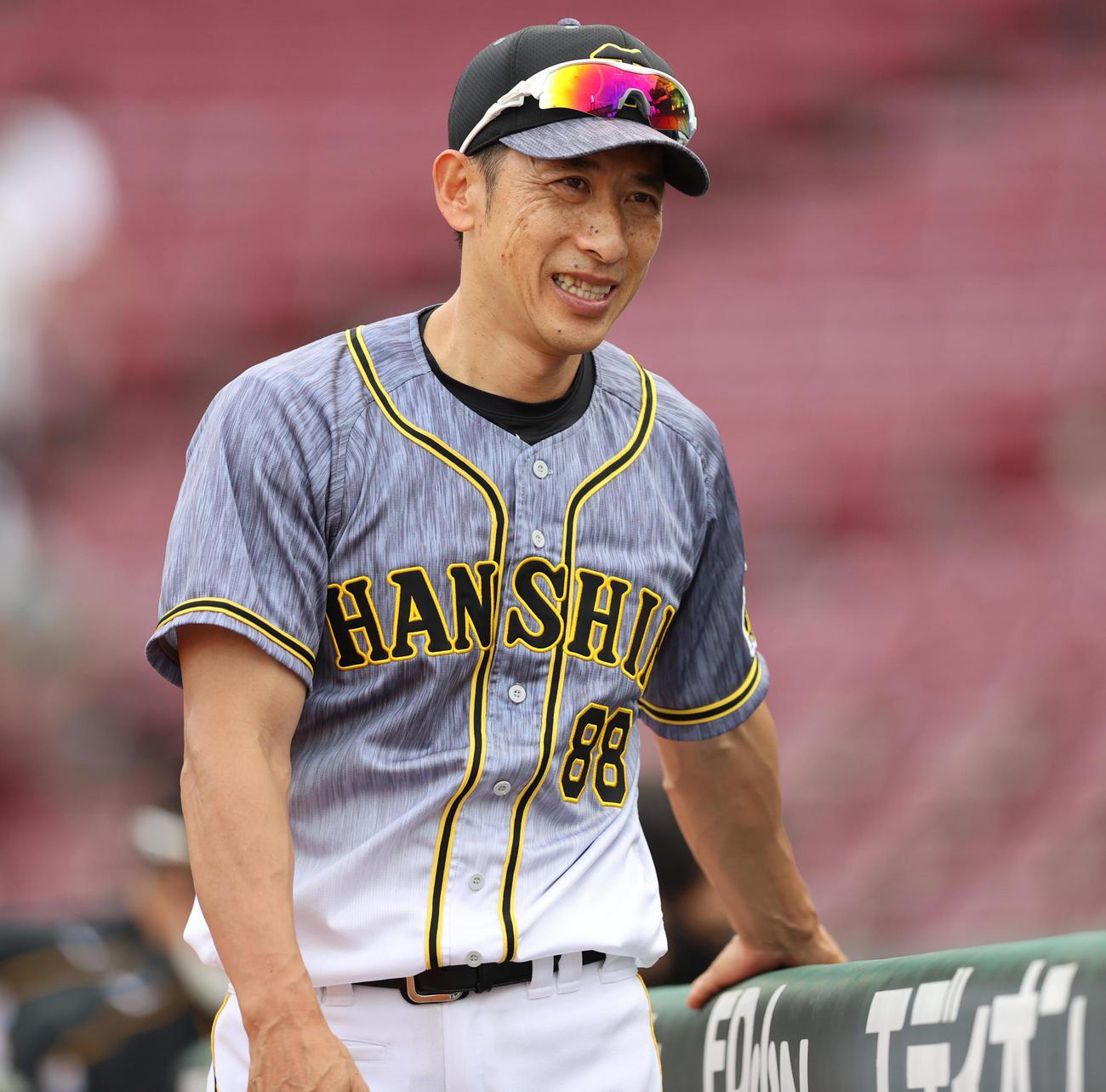阪神矢野耀大監督(2020年7月5日撮影)