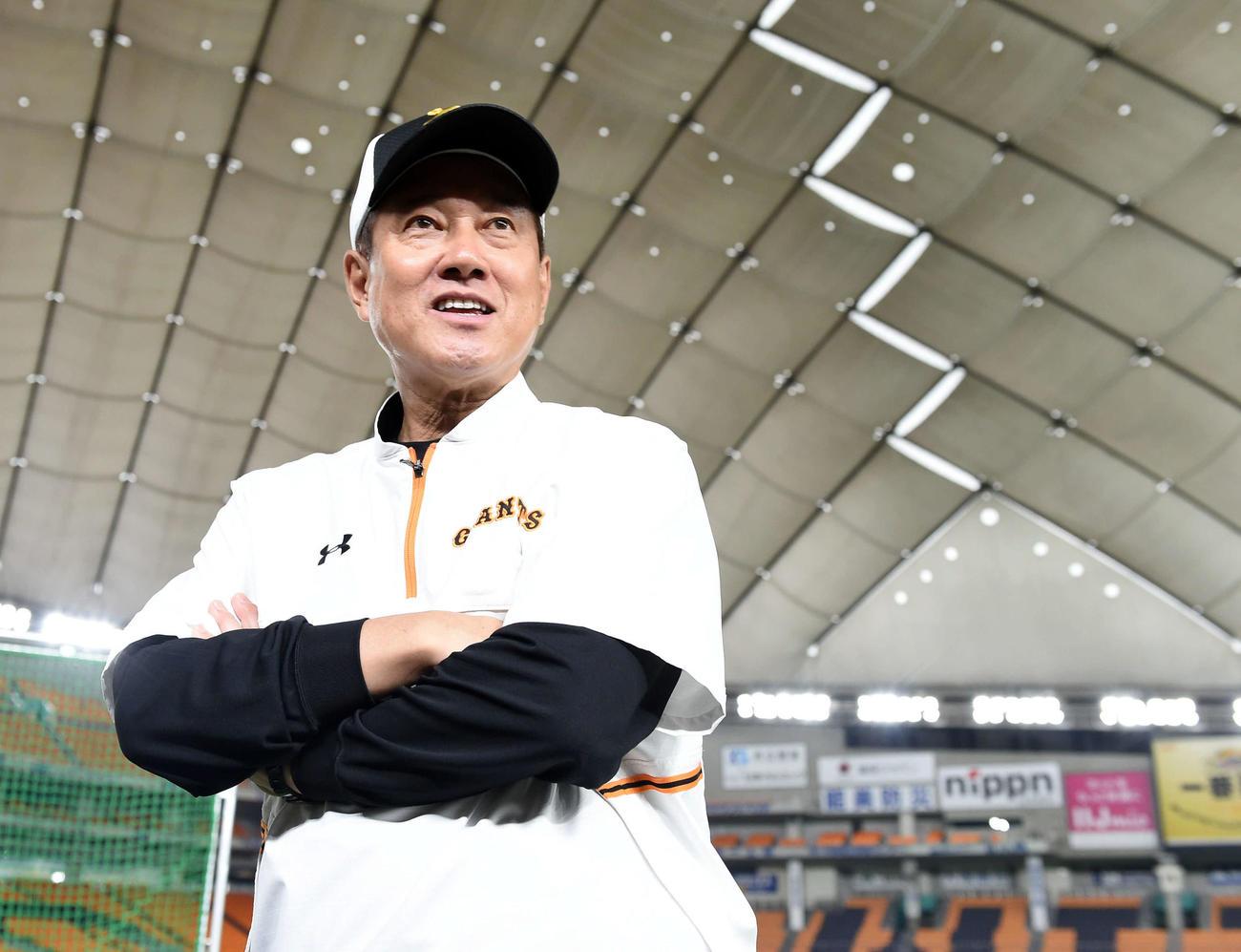 巨人原監督(2020年6月18日撮影)