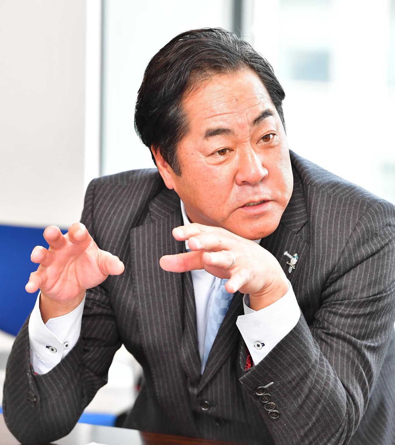 中西清起氏(2019年3月26日撮影)
