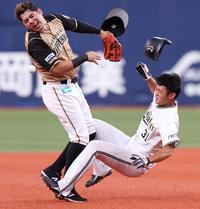 日本ハム・ビヤヌエバ、脳振とう特例措置で1軍抹消 - プロ野球 : 日刊スポーツ