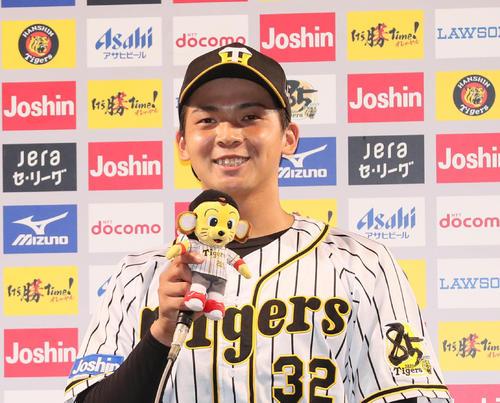Photo of 阪神井上、プロ初お立ち台に「まさか1年目で…」 – プロ野球 : 日刊スポーツ | ニッカンスポーツ