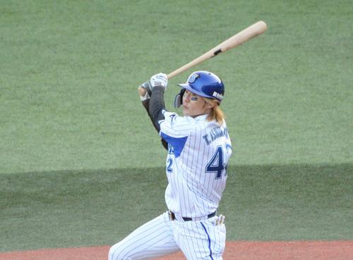 イースタン・リーグ今季最終戦に出場したDeNA石川(2020年10月29日)