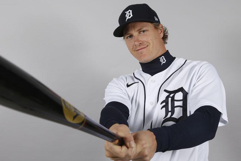 タイガースのブランドン・ディクソン内野手(USA TODAY Sports=ロイター)