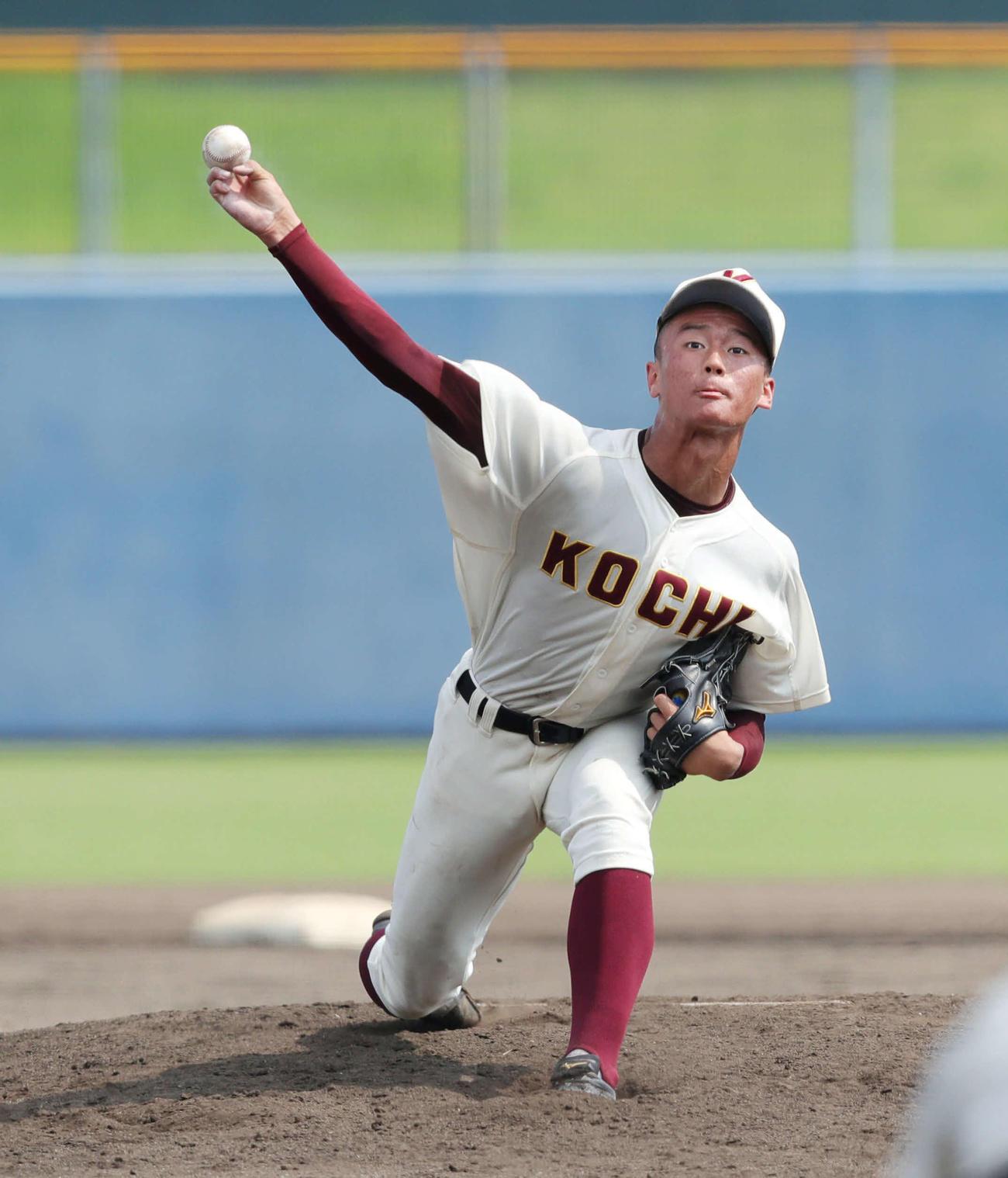 阪神がドラフト上位候補としてマークしていく高知・森木