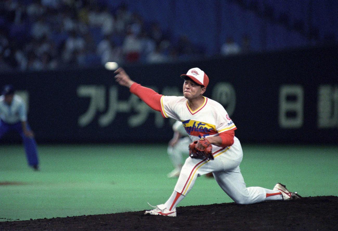 武田一浩が88~91年まで15番を背負った