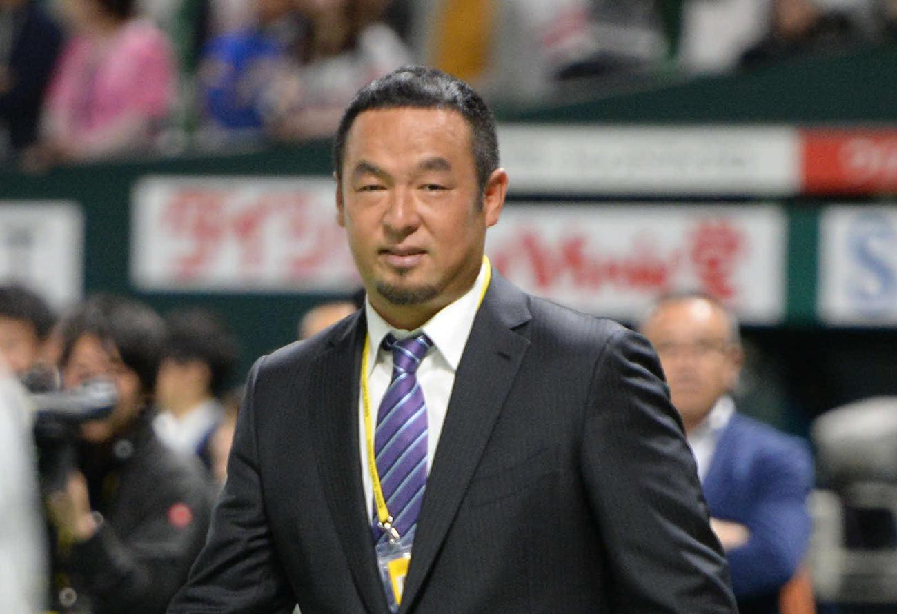 松中信彦氏(2017年10月18日撮影)