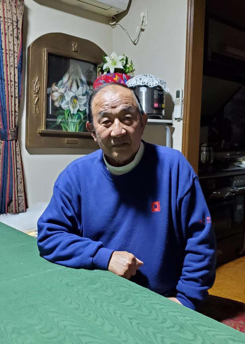 阪神に入団した村上にエールを送る元東洋大監督の高橋昭雄氏(撮影・酒井俊作)