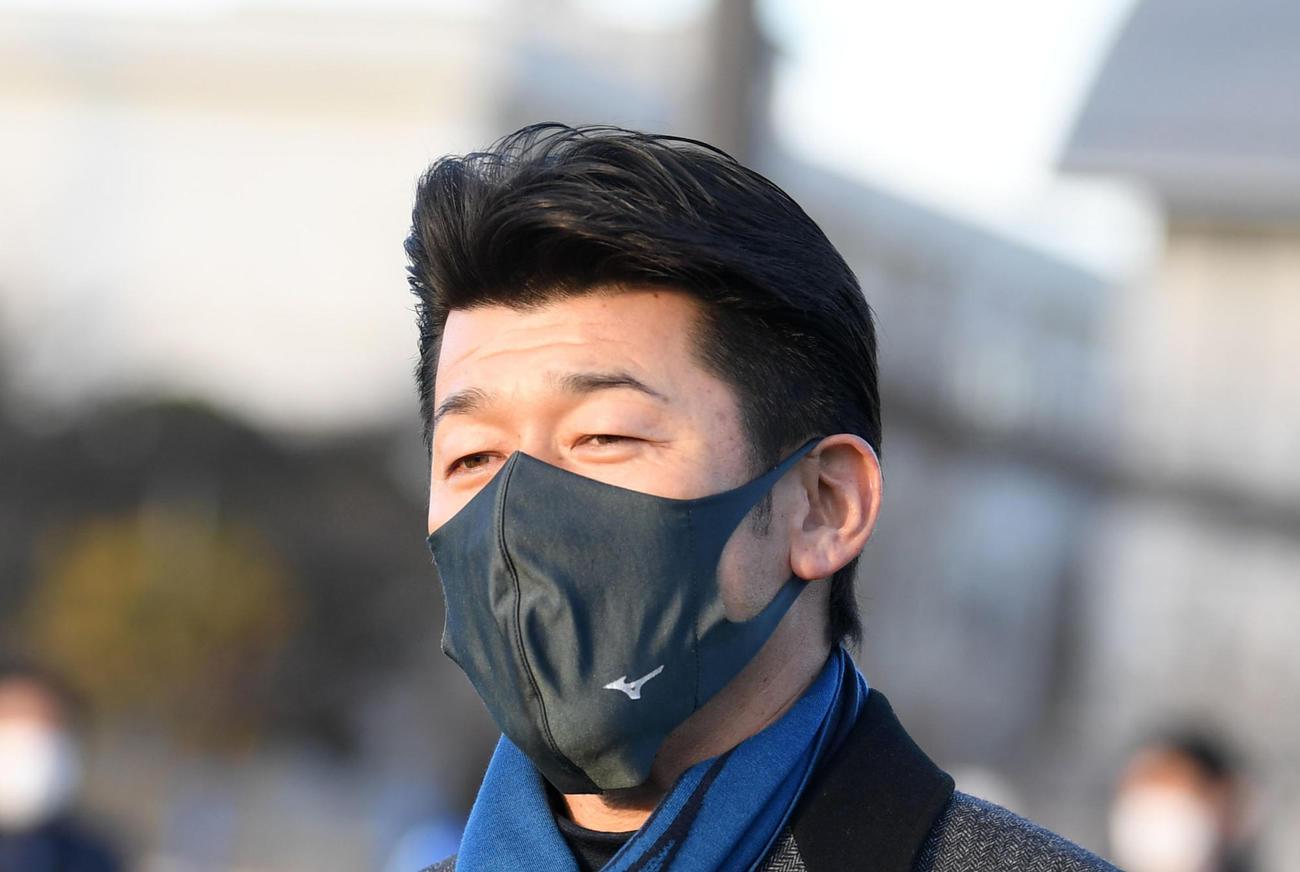 DeNA三浦大輔監督(2021年1月8日撮影)