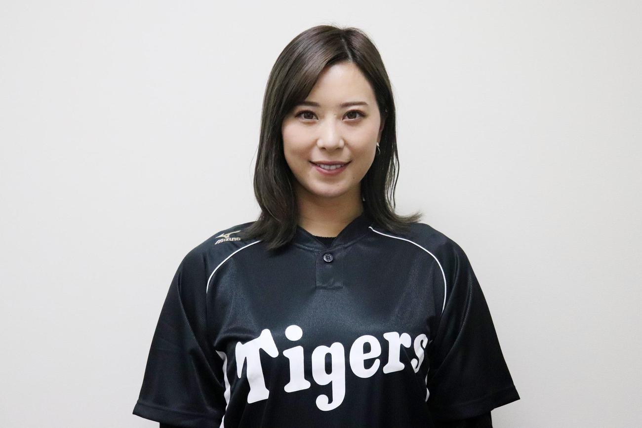 2月からアカデミーのコーチに就任するタイガースWomenの高塚(球団提供)