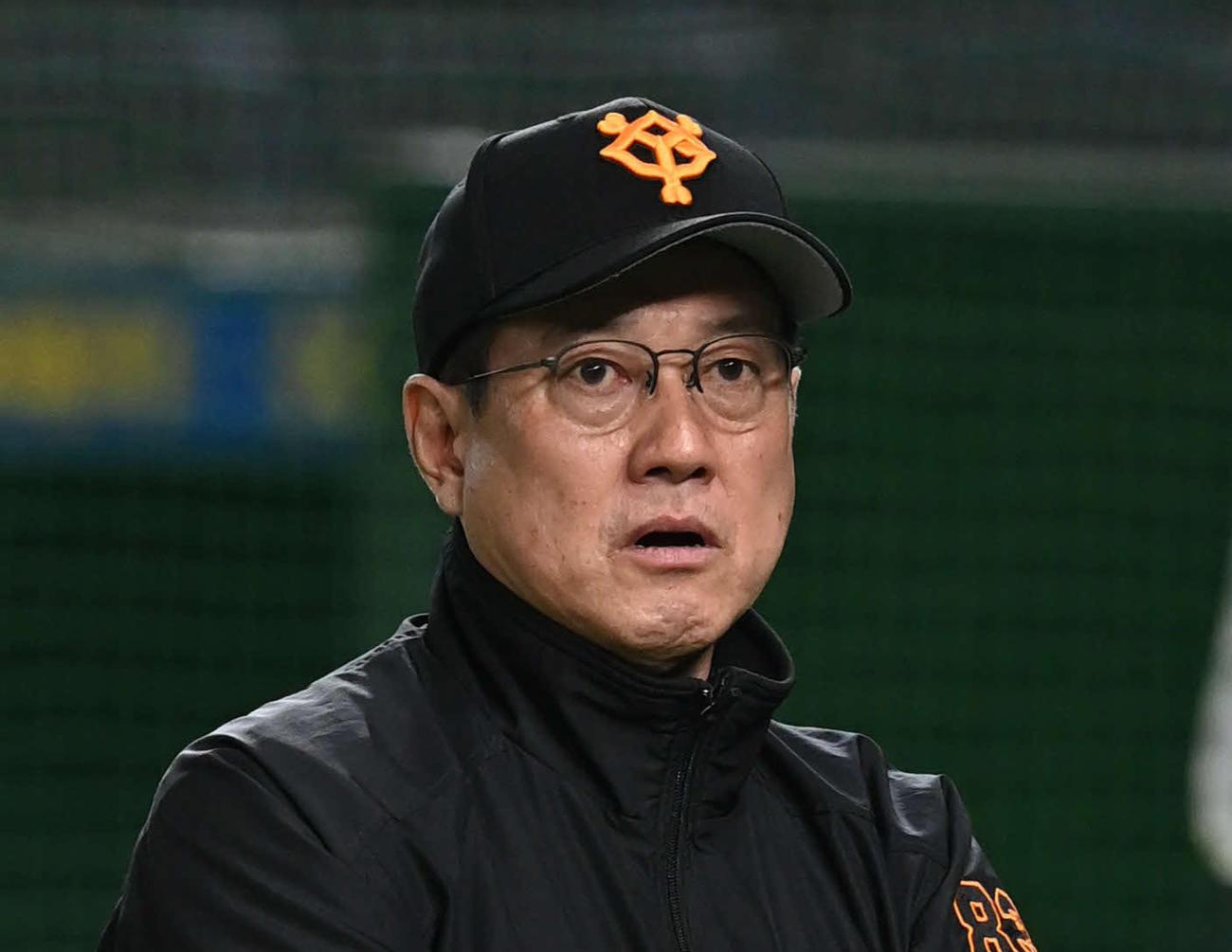 巨人原辰徳監督(2020年11月17日撮影)