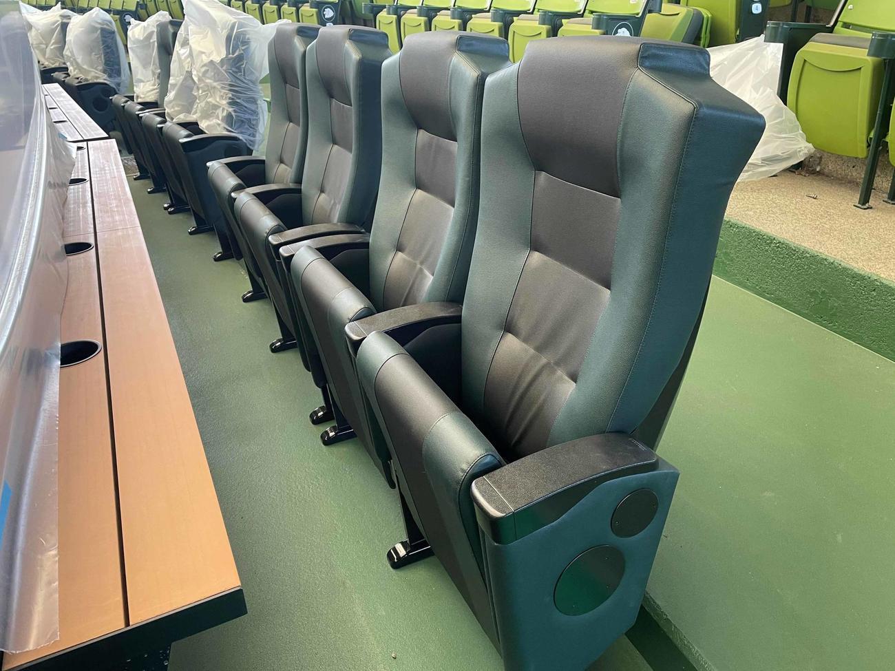 本拠地メットライフドームで新設される「ブルペンかぶりつきシート」(外部提供)
