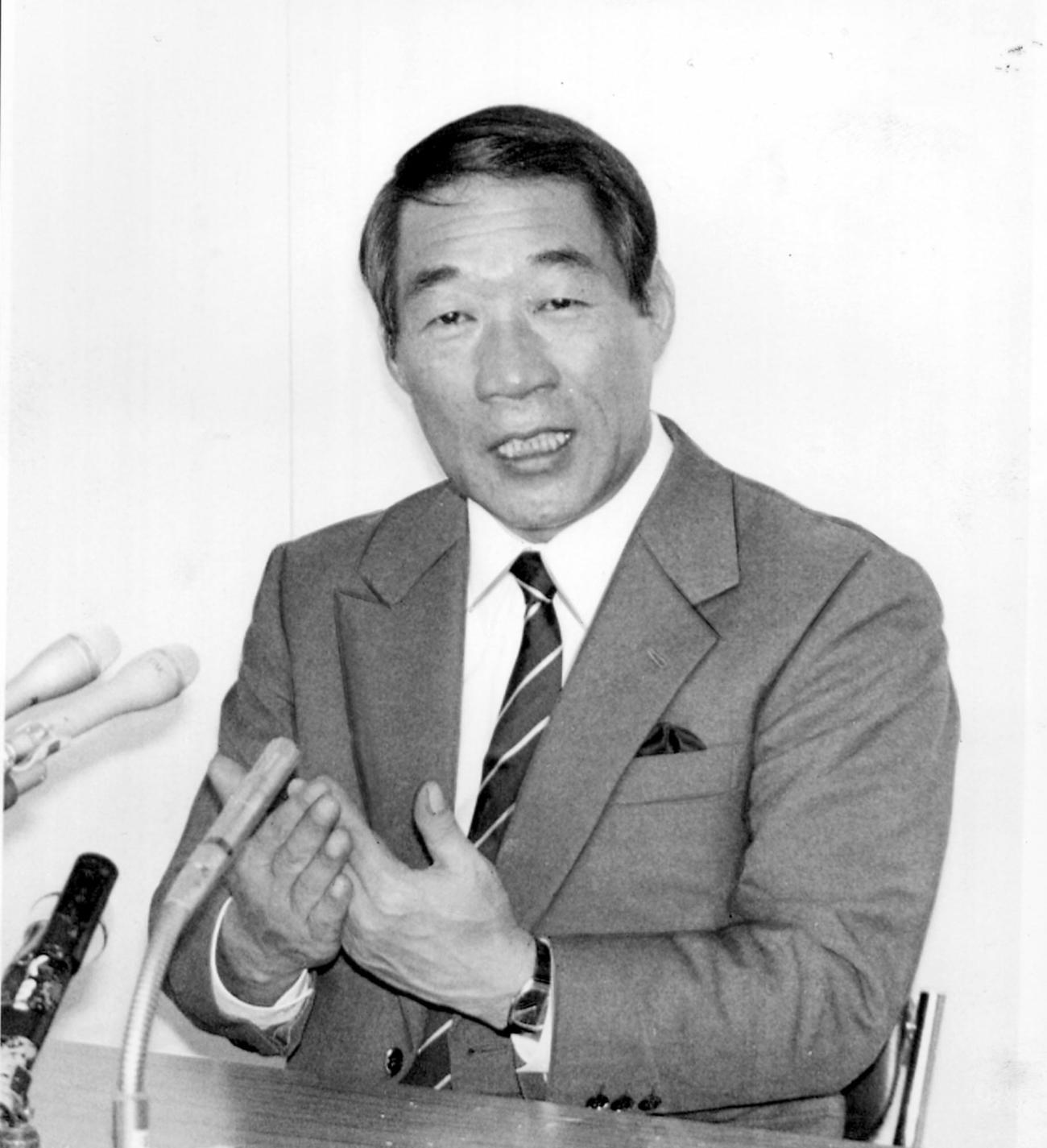 鵜木洋二氏(1988年11月9日撮影)