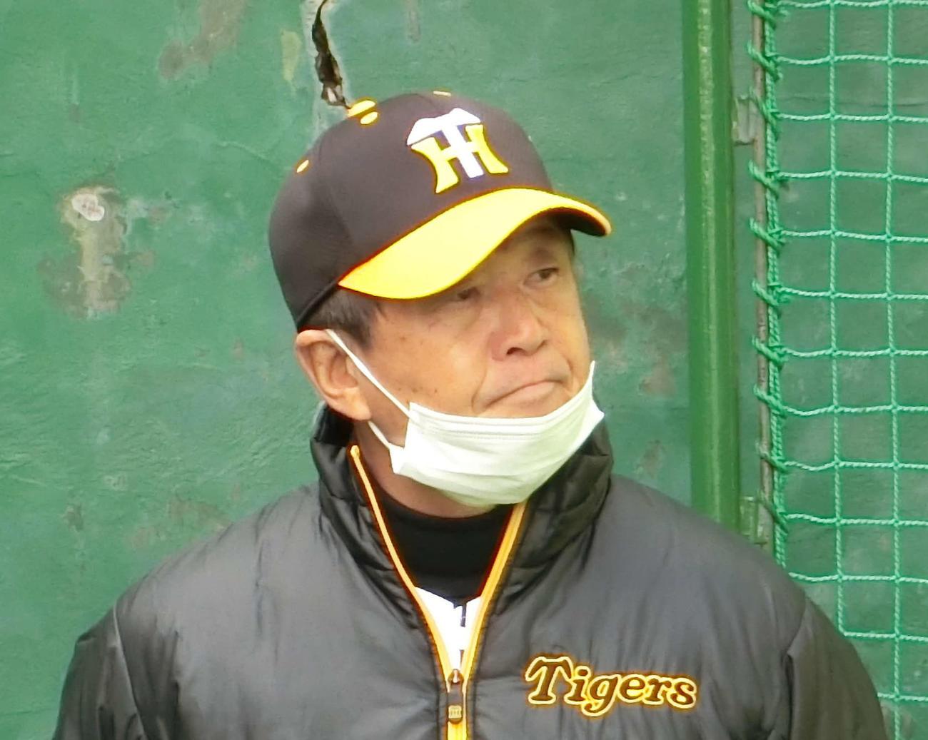 阪神平田勝男2軍監督(2021年2月2日)
