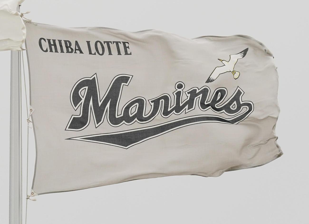 ロッテの球団旗