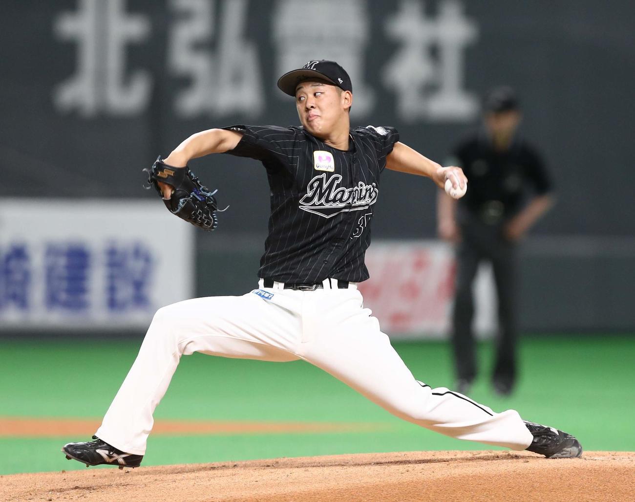 ロッテ鈴木昭汰(2021年4月4日)