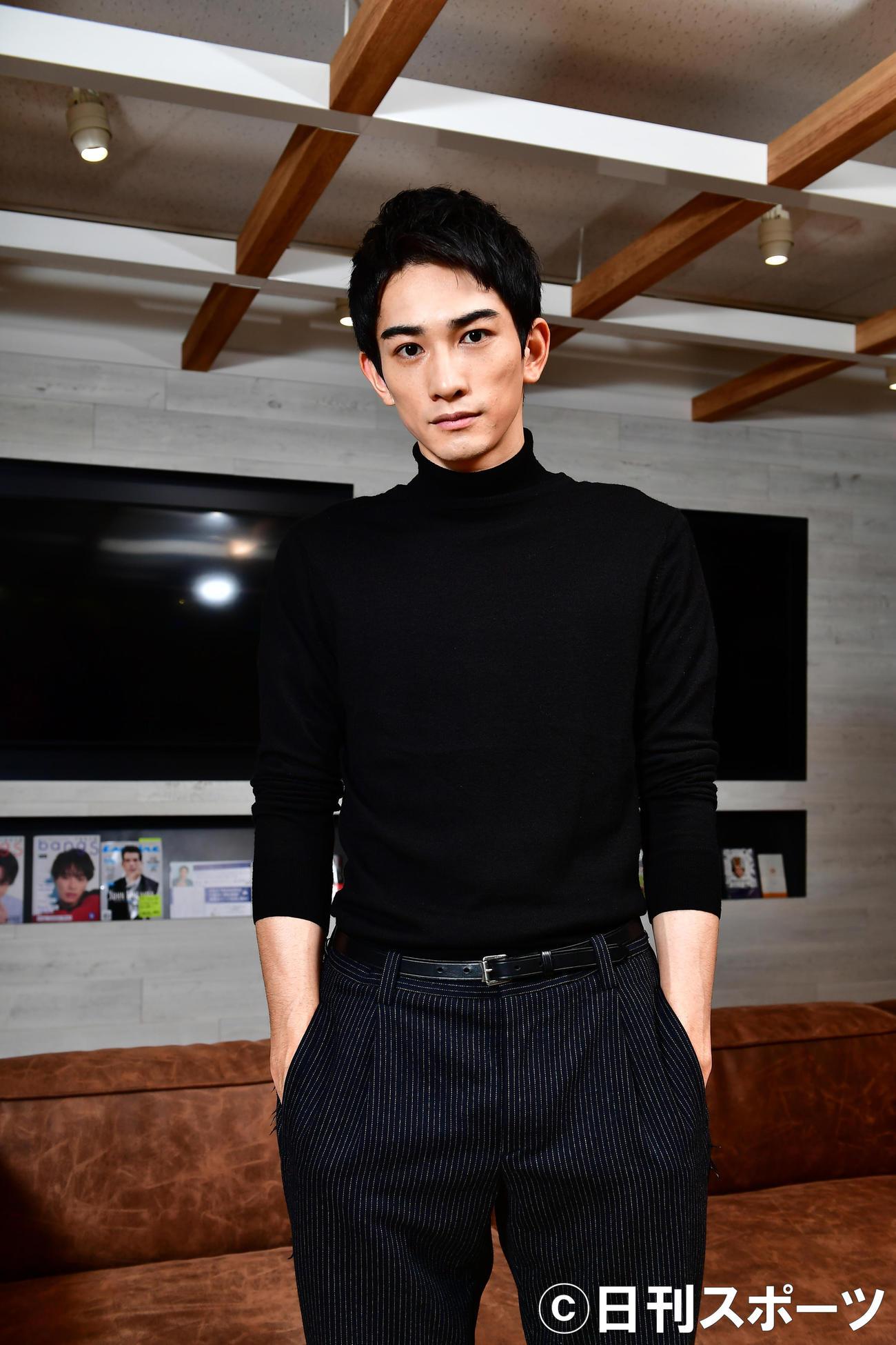 劇団EXILE町田啓太(2019年12月18日撮影)