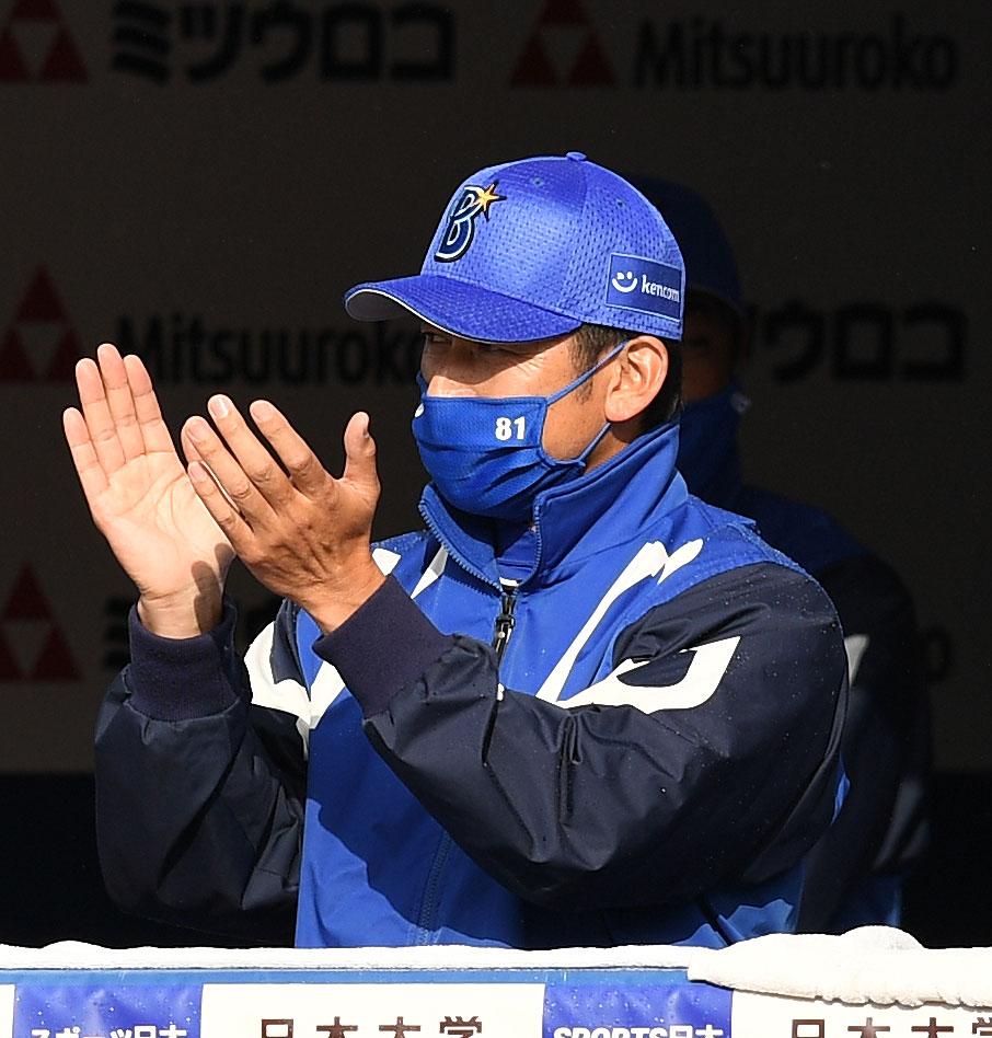 DeNA三浦監督(5月1日撮影)