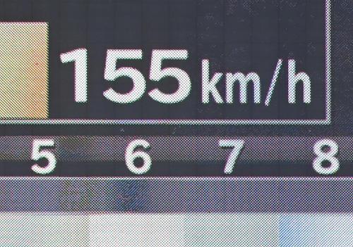 ロッテ対ヤクルト ロッテ先発の佐々木朗の球速は1回には155キロを掲示した(撮影・小沢裕)