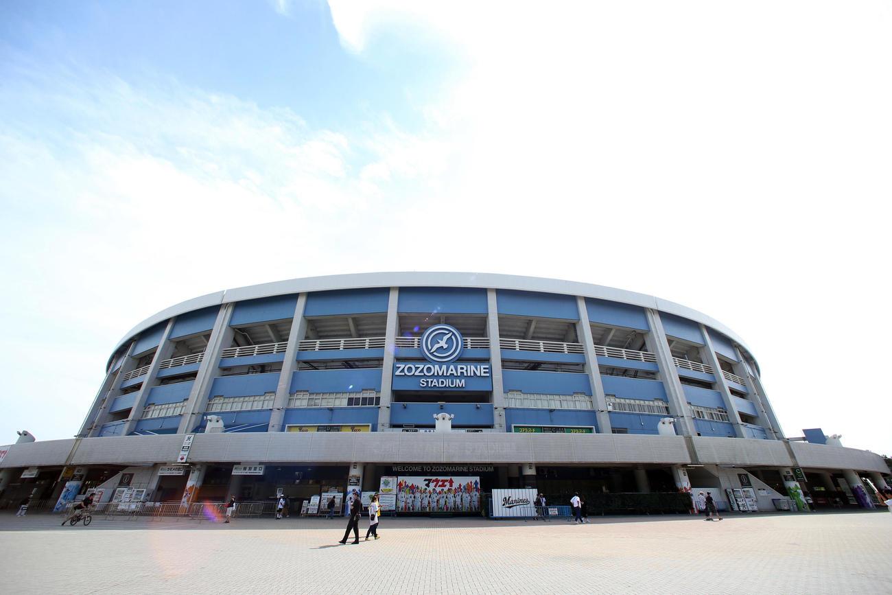 ZOZOマリンスタジアム(19年6月4日撮影)