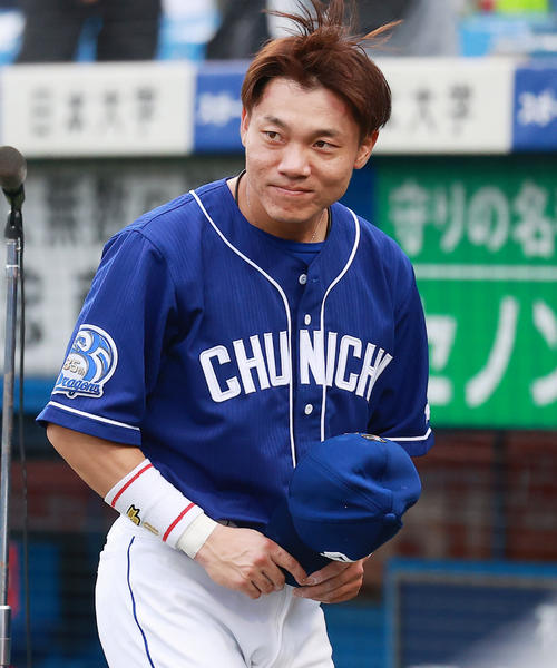 中日大島洋平が1500試合出場「たくさんの人に支えられここまで来れた」 - プロ野球 : 日刊スポーツ