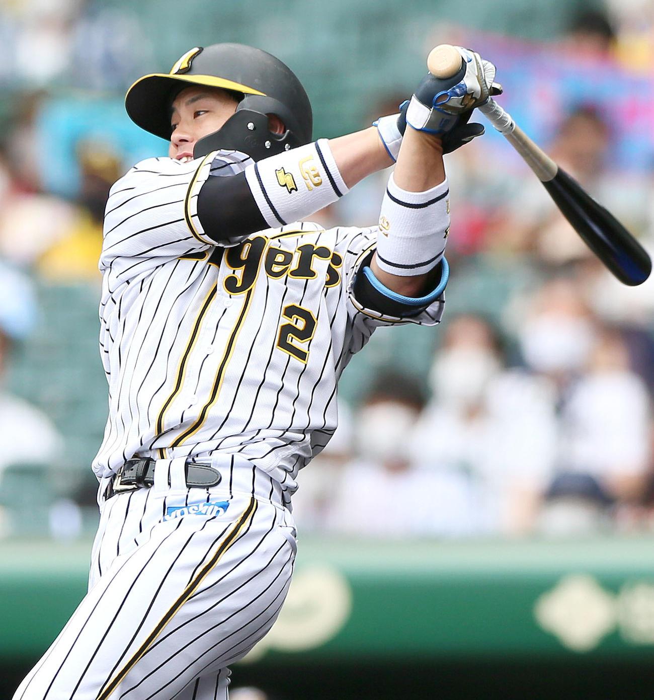 阪神梅野隆太郎、持ち味勝負強さ発揮の先制打 得点圏打率4割1分3厘 - プロ野球 : 日刊スポーツ