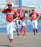 広島篠田 内転筋張りで3回途中降板 - プロ野球ニュース : nikkansports.com