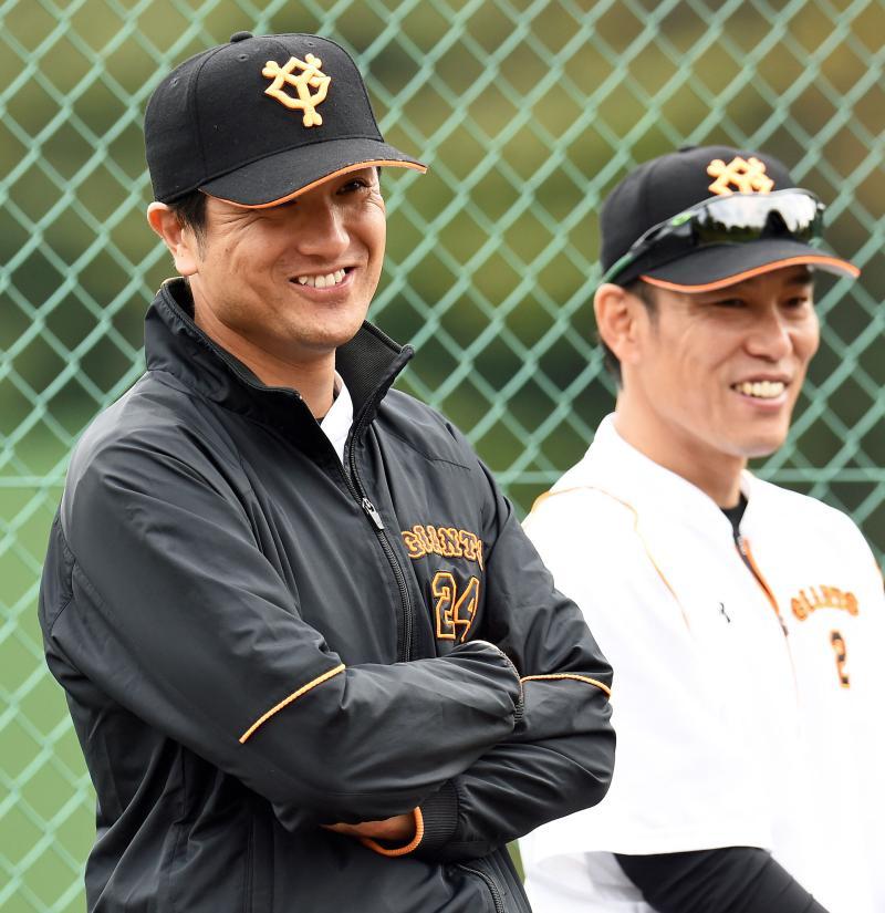巨人高橋監督24井端コーチ82 首脳陣新背番発表 - 野球 : 日刊スポーツ