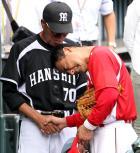 【広島】前田智号泣 水谷コーチに引退報告 - プロ野球ニュース : nikkansports.com