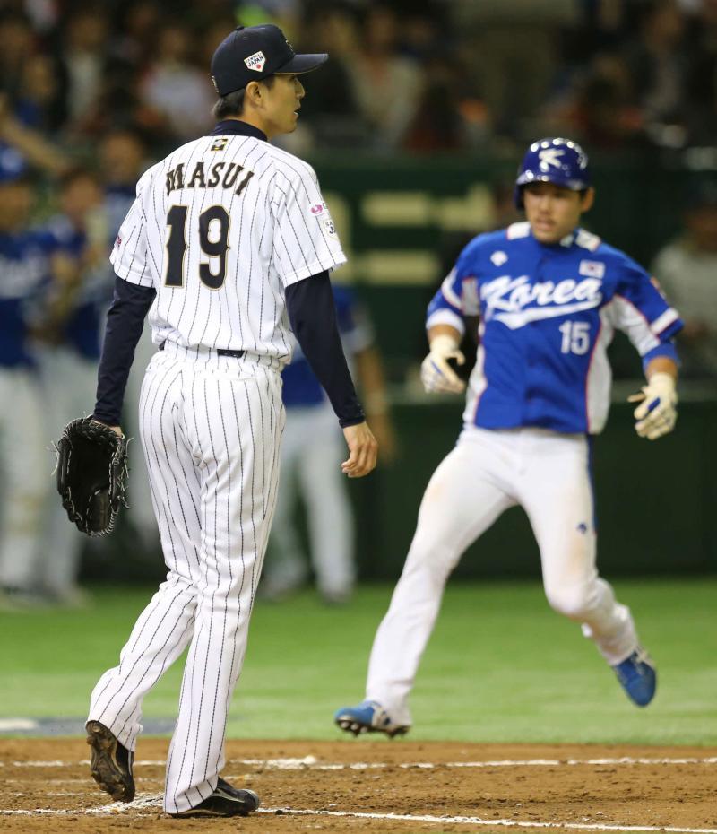 侍日本、韓国に逆転負け準決勝敗退 大谷力投実らず - 野球 : 日刊スポーツ