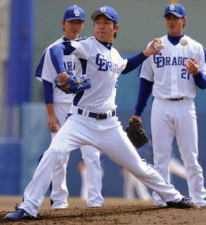 チェン指名、大野が後継者「全て教える」 - プロ野球ニュース : nikkansports.com